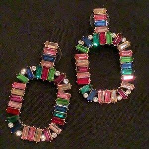 Eye Candy LA Zahara Rainbow Earrings